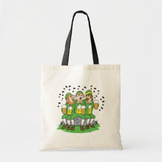 When Irish Eyes Are Smiling Budget Tote Bag