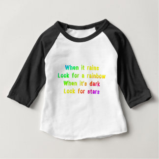 When it rains. baby T-Shirt