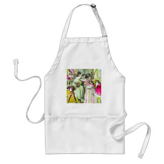 When Johnny Comes Marching Home Civil War Standard Apron