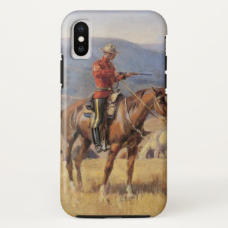 When Law Dulls the Edge of Chance by CM Russell iPhone X Case