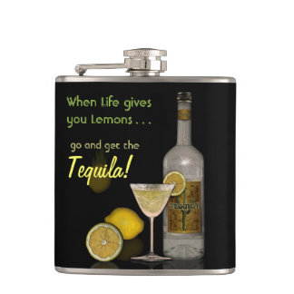 When Life gives you Lemons... Hip Flask
