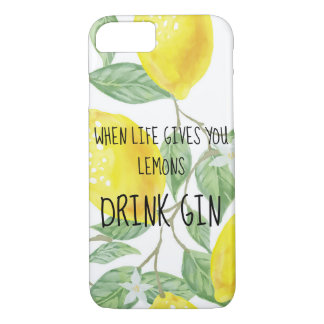 when life gives you lemons iPhone 8/7 case