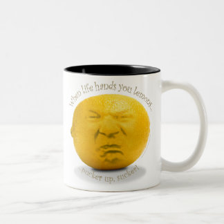 """When Life Hands You Lemons"" Mug"