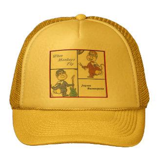 """""""When Monkeys Fly""""  hat"""