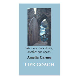 """""""WHEN ONE DOOR OPENS. . . .  """" Business Card"""