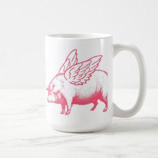 When Pigs Fly Basic White Mug