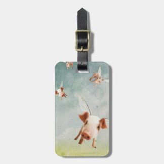 When Pigs Fly - Believe Luggage Tag