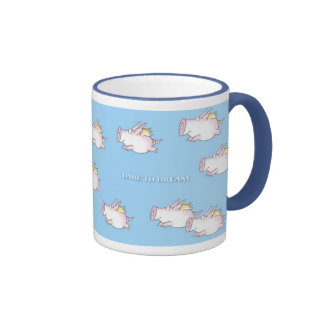 WHEN PIGS FLY by Sandra Boynton Ringer Mug