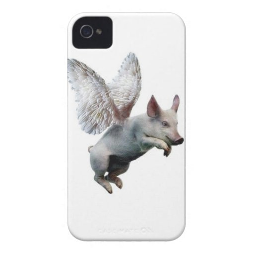 When Pigs Fly iPhone 4 Case-Mate Case