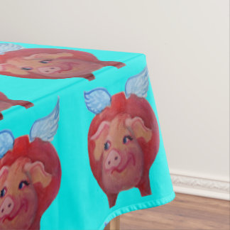 when pigs fly tablecloth