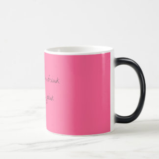 when REAL men drink they do it in pink Mug