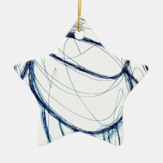 When robots are cute and for everybody it works ceramic ornament