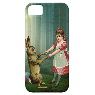 WHEN SHE FOUND THE EASTER BUNNY BARELY THERE iPhone 5 CASE