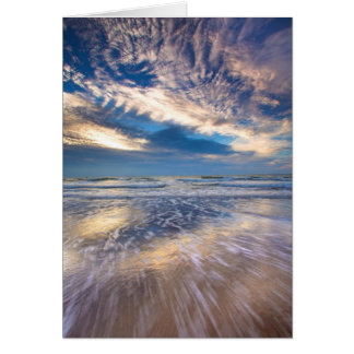 When Sky meets Sea. Card 1