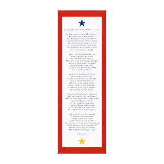 When the Blue Star Turns to Gold Gallery Wrapped Canvas