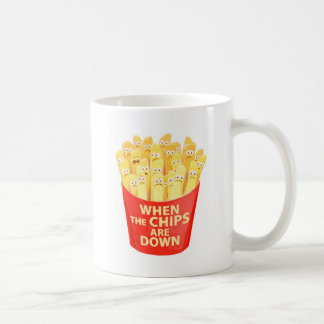 When the chips are down... coffee mug