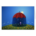 When the Night Comes Greeting Card
