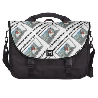 When The Pressure Gets To Me Go Snorkeling Dreams Laptop Messenger Bag