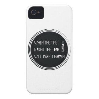 When The Time is Right iPhone 4 Covers