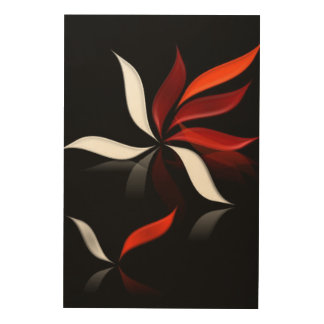 When the wind blows... wood wall art