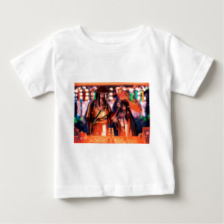 When Warriors Turn To Lovers Baby T-Shirt
