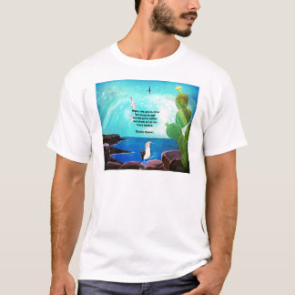 When We Are In Love Inspirational Quote T-Shirt