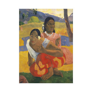 When Will You Marry?  by Paul Gauguin Canvas Print