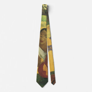 When Will You Marry? by Paul Gauguin, Vintage Art Tie