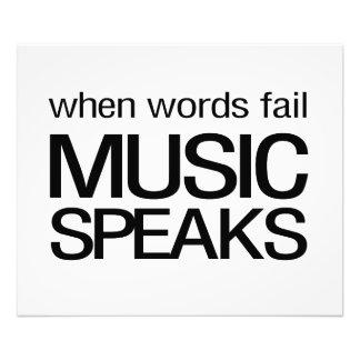 When Words Fail Music Speaks Photo