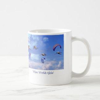 When Worlds Glide Coffee Mug