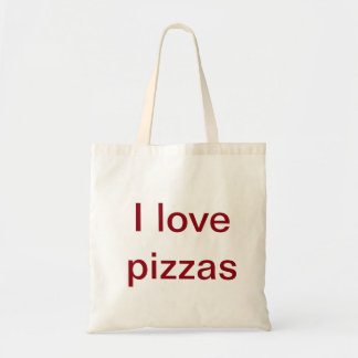 When you  are a pizza lover carry along tote bag