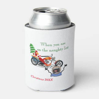 When you are on Santa's Naughty List Can Cooler