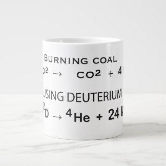 When you need energy ... jumbo mug
