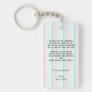 When You Need Me Pet Memorial Keychain
