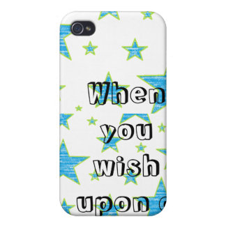 When you wish upon a star iPhone 4/4S cover