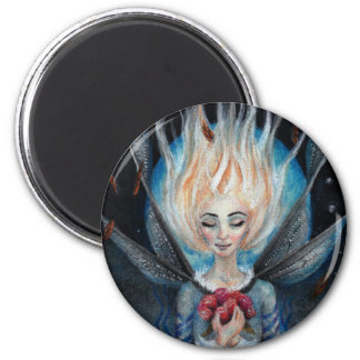 When you wish upon a star 6 cm round magnet