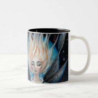 When you wish upon a star Two-Tone mug