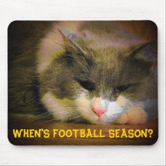 When's football season? mouse pads