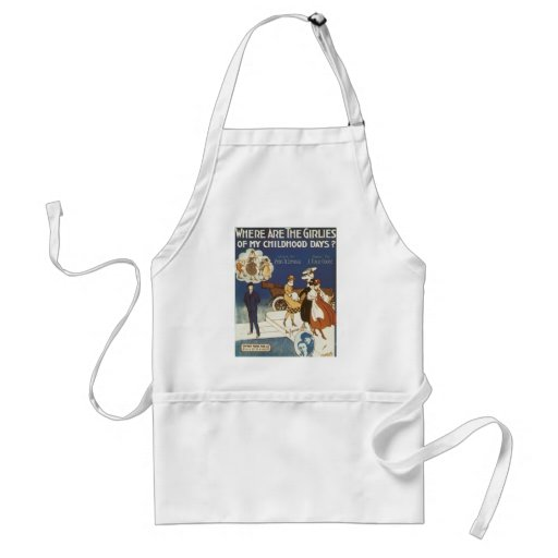 Where Are the Girlies of My Childhood Days? Aprons