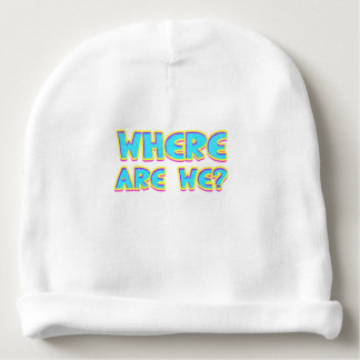 Where are we baby beanie