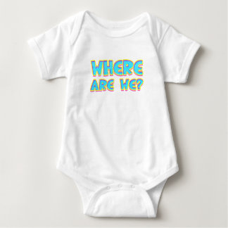 Where are we baby bodysuit