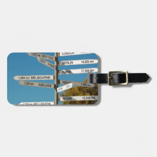 Where are you? luggage tag