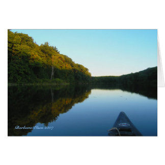 Where Day Meets Night: Benedict Pond Card