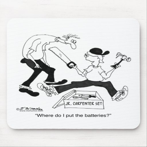 Where Do I Put The Batteries? Mouse Pad