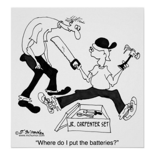 Where Do I Put The Batteries? Poster