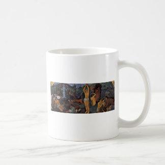 Where Do We Come From? Who Are We? Where Do We Go? Coffee Mug