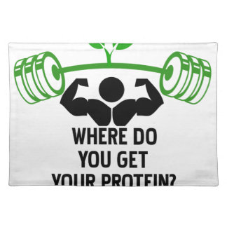 Where do you get your protein placemat