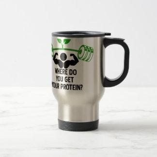 Where do you get your protein travel mug