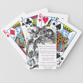 Where Do You Want To Go Poker Deck