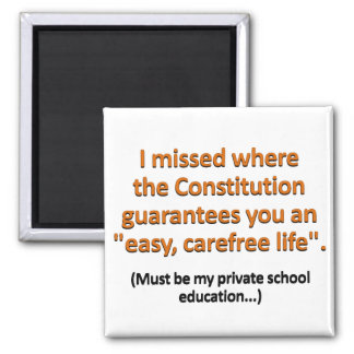 Where does it say that in the Constitution Square Magnet